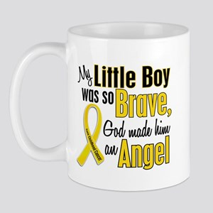 Angel 1 LITTLE BOY Child Cancer Mug