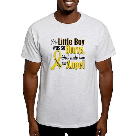 Angel 1 LITTLE BOY Child Cancer Light T-Shirt