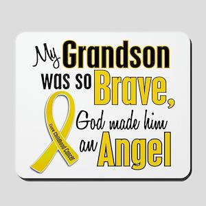 Angel 1 GRANDSON Child Cancer Mousepad
