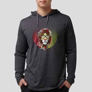 Rastafari Lion Long Sleeve T-Shirt