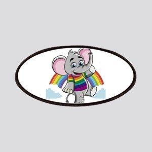 Rainbow Elephant Patch