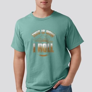This Is How I Roll - Kayak Paddle Canoeing T-Shirt