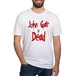 John Galt is Dead Fitted T-Shirt