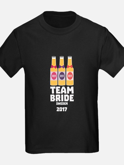 Team Bride Sweden 2017 C2x8p T-Shirt