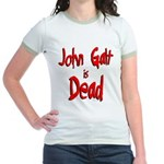 John Galt is Dead Jr. Ringer T-Shirt