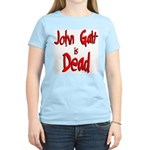 John Galt is Dead Women's Pink T-Shirt