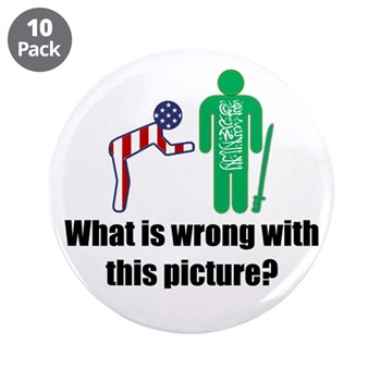 """What's wrong? 3.5"""" Button (10 pack)"""