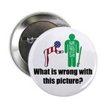"""What's wrong? 2.25"""" Button (100 pack)"""