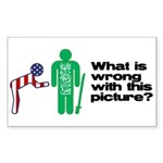 What's wrong? Rectangle Sticker 50 pk)