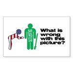 What's wrong? Rectangle Sticker