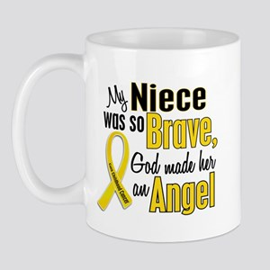 Angel 1 NIECE Child Cancer Mug