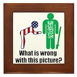 What's wrong? Framed Tile