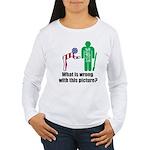 What's wrong? Women's Long Sleeve T-Shirt