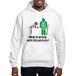What's wrong? Hooded Sweatshirt