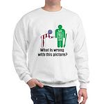 What's wrong? Sweatshirt