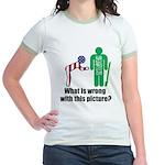 What's wrong? Jr. Ringer T-Shirt