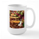 Path / Rat Terrier Large Mug