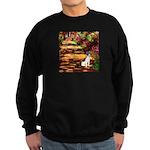 Path / Rat Terrier Sweatshirt (dark)