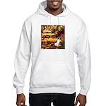 Path / Rat Terrier Hooded Sweatshirt