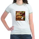 Path / Rat Terrier Jr. Ringer T-Shirt