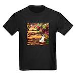 Path / Rat Terrier Kids Dark T-Shirt