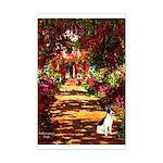 Path / Rat Terrier Mini Poster Print