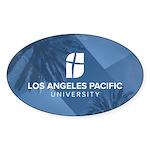 L. A. Pacific Palms 3 X 5 Oval Sticker