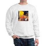 Cafe / Rat Terrier Sweatshirt