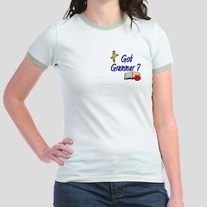 Got Grammar ? Jr. Ringer T-Shirt
