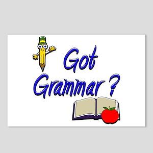 Got Grammar ? Postcards (Package of 8)