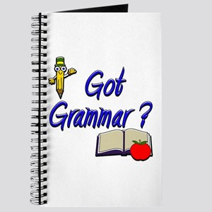Got Grammar ? Journal