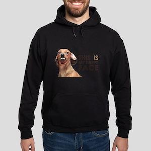 Happy Face Dachshund Sweatshirt