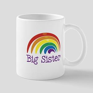 Big Sister Rainbow Mug