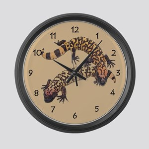 Gila Monster Large Wall Clock