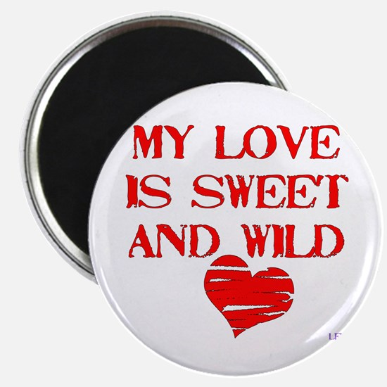"""My Love 2.25"""" Magnet (10 pack)"""