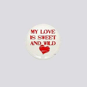 My Love Mini Button