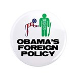 """Obama Bow 3.5"""" Button (100 pack)"""