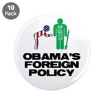 """Obama Bow 3.5"""" Button (10 pack)"""