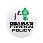 """Obama Bow 3.5"""" Button"""