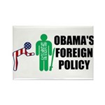 Obama Bow Rectangle Magnet (100 pack)