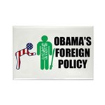 Obama Bow Rectangle Magnet (10 pack)