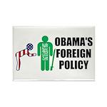 Obama Bow Rectangle Magnet