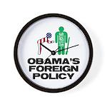 Obama Bow Wall Clock