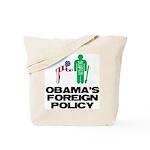 Obama Bow Tote Bag