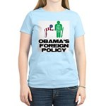 Obama Bow Women's Light T-Shirt