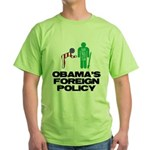 Obama Bow Green T-Shirt