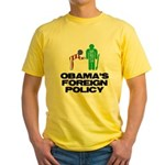 Obama Bow Yellow T-Shirt