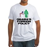 Obama Bow Fitted T-Shirt
