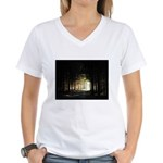 Out of the Dark Forest Women's V-Neck T-Shirt