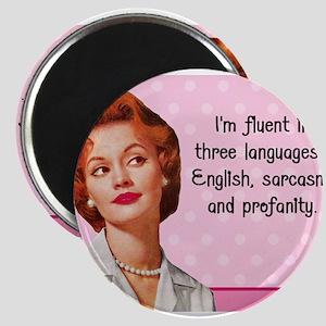 English Sarcasm Profanity Magnets